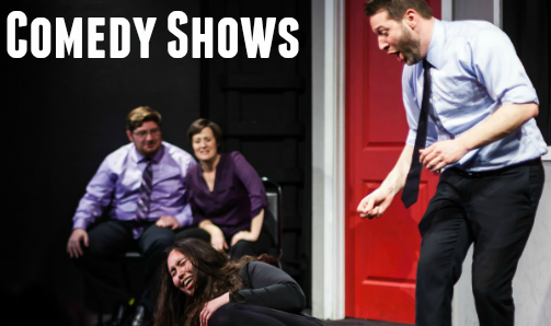 improv shows feature audience members participating in hilarious & memorable scenes and games.