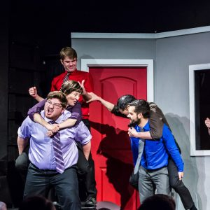 Improv Comedy Cast At Made Up Theatre